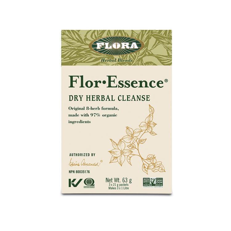 加拿大Flora护士茶包 调理排毒 改善睡眠 抵御雾霾 家里也能DIY护士茶