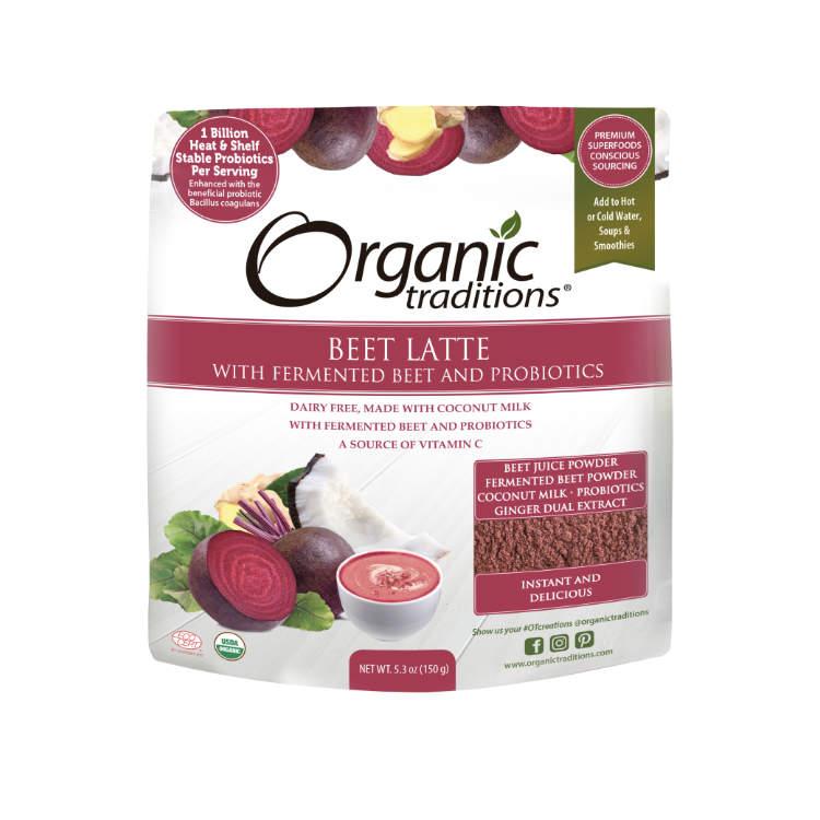 美国Organic Traditions甜菜根拿铁 有机发酵 富含益生菌 补血护肝