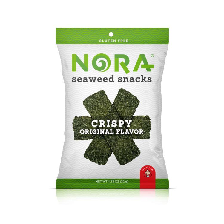 美国NORA海苔酥脆片 脆皮原味 韩国海苔泰国工艺 非转基因认证