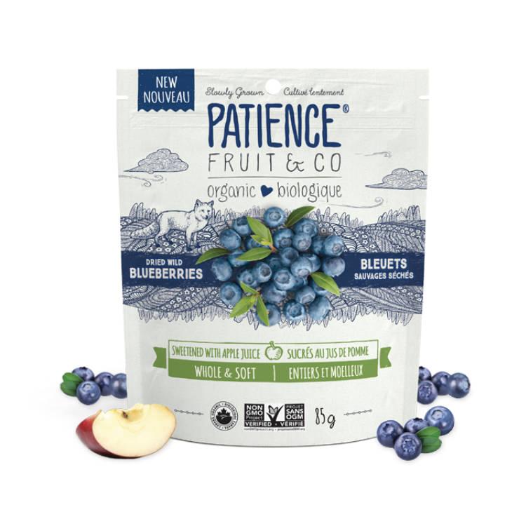加拿大Patience有机野生蓝莓干  采用苹果汁替代糖
