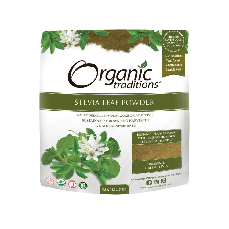 美国Organic Traditions有机甜叶菊粉 对血糖无影响 高血糖及糖尿病人适用
