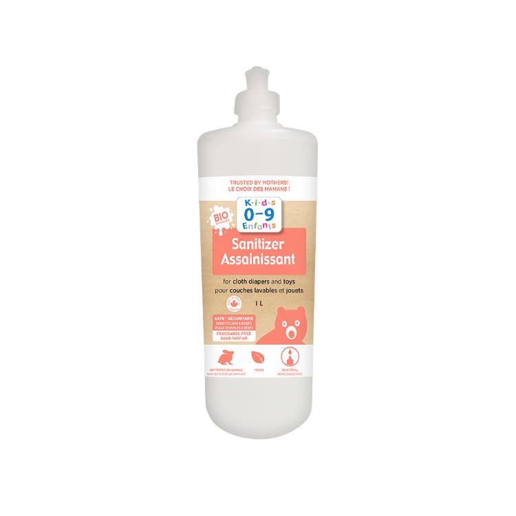 加拿大Homeocan婴幼儿专用消毒剂 天然可生物降解 可用于消毒宝宝衣物玩具 无香型