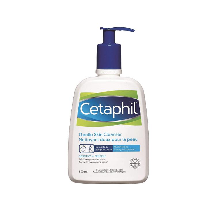 加拿大Cetaphil丝塔芙温和洁肤乳 500毫升实惠装 加拿大销量第一 加拿大皮肤病学协会推荐品牌
