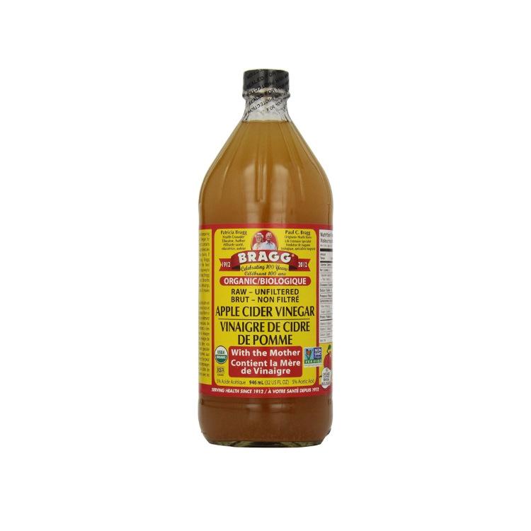 美国Bragg布拉格有机苹果醋 946毫升 未过滤原醋 保留益生菌及酶(With the Mother)