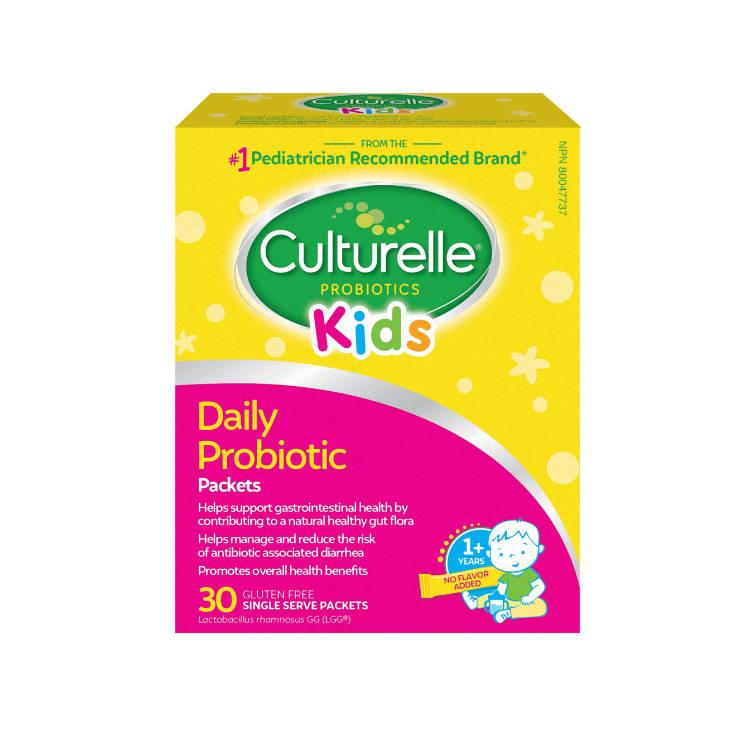 美国Culturelle康萃乐儿童每日益生菌30袋冲剂 采用鼠李糖乳杆菌LGG