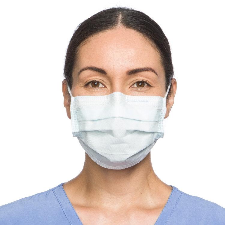 美国Halyard医用口罩 欧盟Type II认证 细菌过滤效能相当于Level 3口罩 50片装