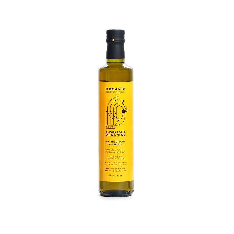 加拿大Phoeapolis Organics有机特级初榨橄榄油 500毫升