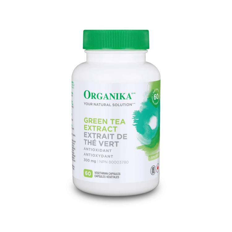 加拿大Organika绿茶素 含50% EGCG 天然抗氧化剂 促进新陈代谢 帮助体重管理