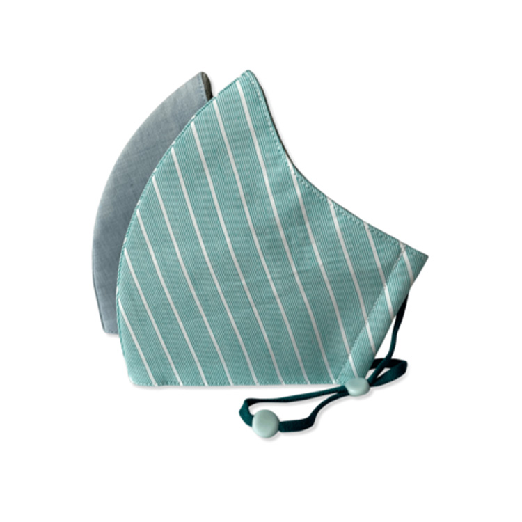 加拿大Happy Natural儿童有机棉质口罩2只装 3层防护 纳米银技术持久杀菌