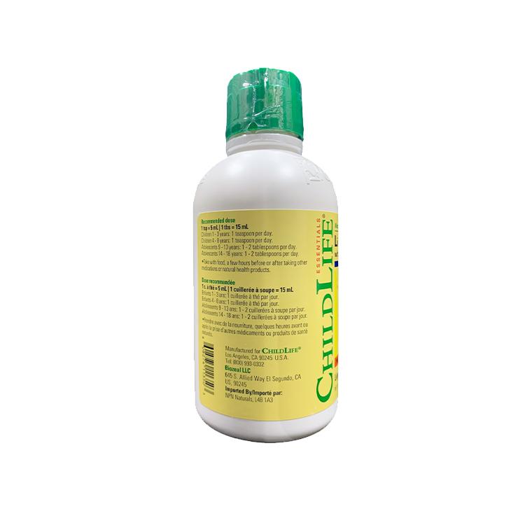 美国ChildLife童年时光液体钙 钙镁锌D 婴幼儿补钙营养液