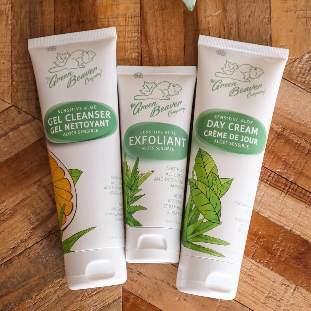 加拿大Green Beaver天然防敏感芦荟洁面乳 120ml 温和清洁 不刺激敏感肌肤 适合暗疮皮肤