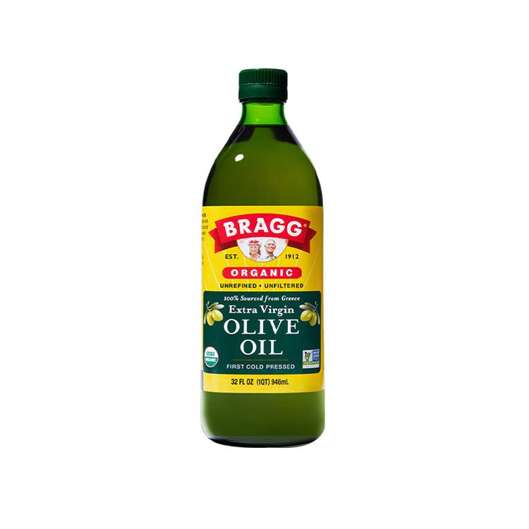 美国Bragg布拉格有机初榨橄榄油 未过滤提炼 高品质希腊科拉喜橄榄