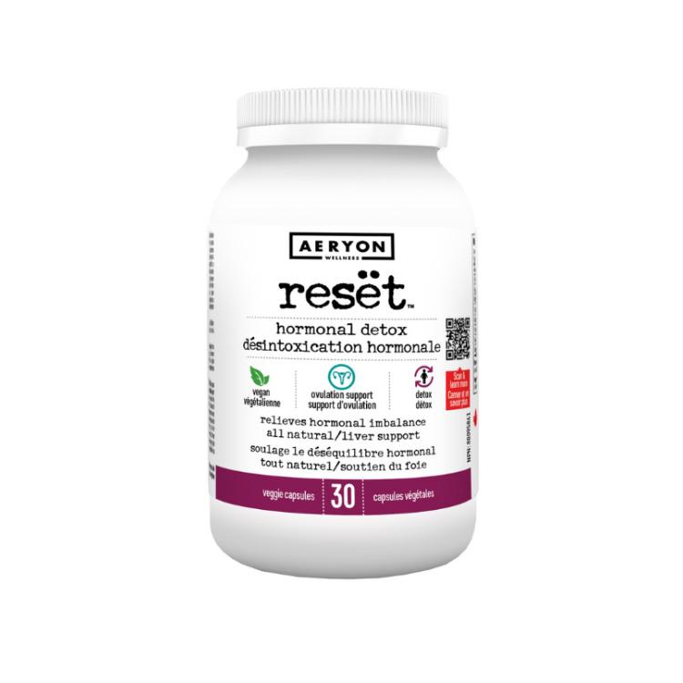 加拿大Aeryon荷尔蒙平衡胶囊 30粒 适用于长期服用避孕药者 恢复雌激素平衡 调节月经周期