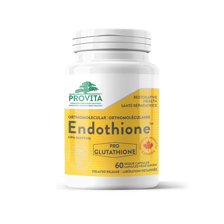 加拿大Provita Endothione谷胱甘肽促生胶囊 60粒 提升免疫 保护肝脏 支持排毒