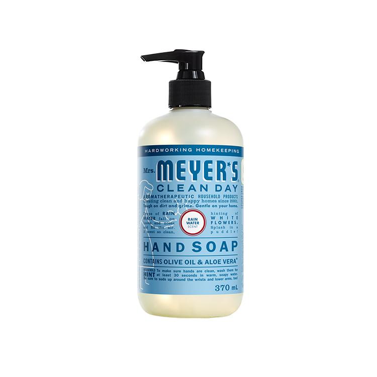 美国Mrs. Meyer's Clean Day洗手液 370ml 雨后清新味道 含橄榄油芦荟 深度保湿