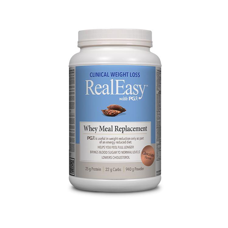加拿大Natural Factors PGX乳清蛋白代餐 浓郁巧克力口味 稳定血糖水平 满足日常营养所需