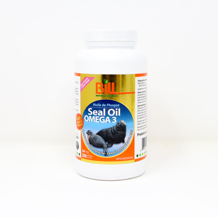 加拿大Bill康加美北极海豹油500毫克300粒装
